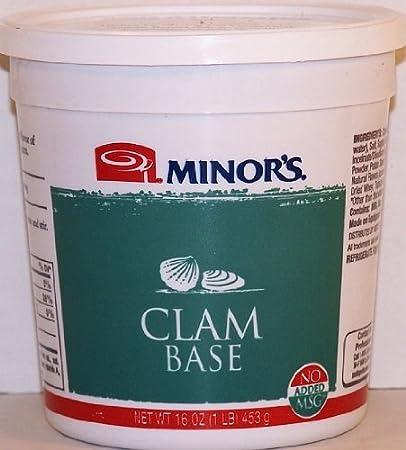Del menor Clam Base – no-added MSG: Amazon.com: Grocery ...