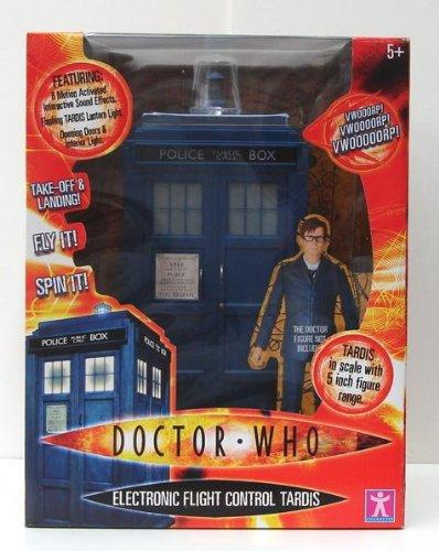 Doctor Who Electronic Flight Control Tardis Playset