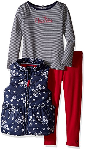 nautica-little-girls-toddler-vest-shirt-and-double-knit-pant-set-navy-2t