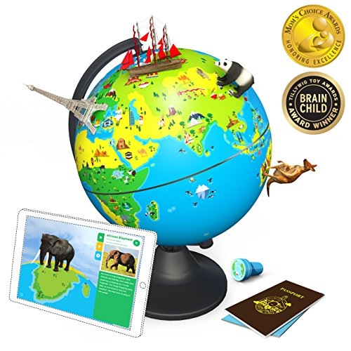 Shifu Orboot (App Based): The Educational, Augmented Reality Based Globe | STEM Toy for Boys & Girls Age 4 to 10...