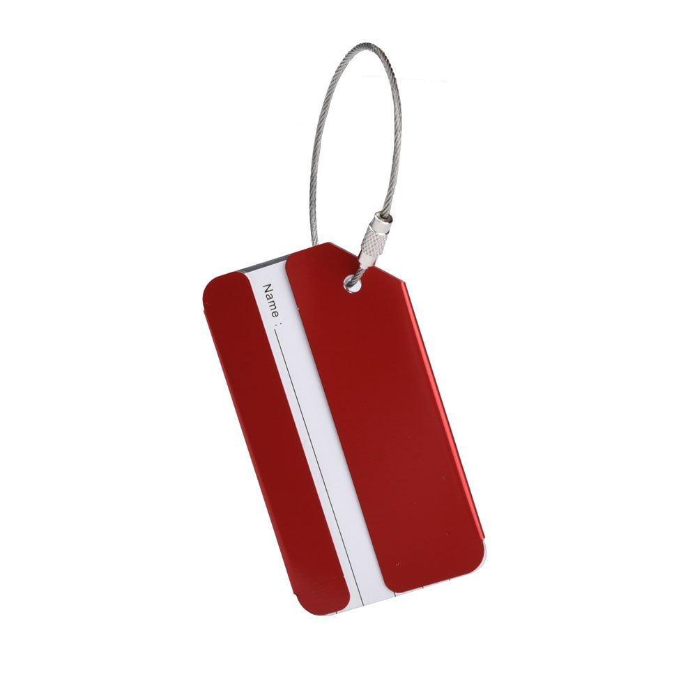 Westeng /Étiquettes De Bagages En Alliage dAluminium Etiquettes de Valise Multicolore 5 Pi/èce