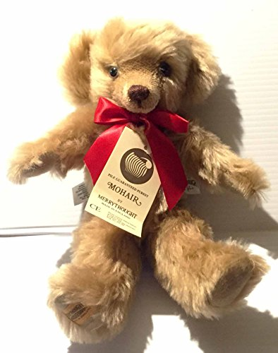 Merry Thought Olivar Holmes Mohair Teddy Bear 11inch Posable Figure from Mohair