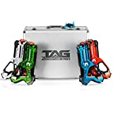 Laser Tag for Kids - Premium Deluxe Lazer Tag Gun Set of 4 with Designer Case & Beetle Bug - Multiplayer Game Play w/ 4 Unique Gun Settings - 100% Safe and Fun for Children and Adults Alike!