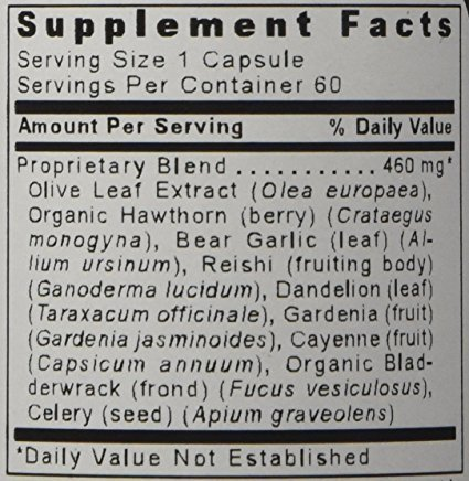 Premier Research Labs Premier B. P. Complex Blood Pressure Formula - 240 Vegetable Capsules (4 Bottles) by Premier Research Labs (Image #2)