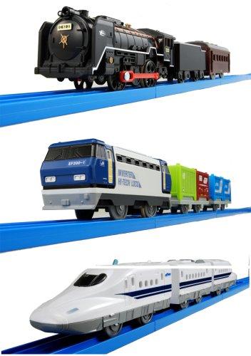 プラレール スーパー列車大集合セット-新幹線SL貨物- B0017I7W0A
