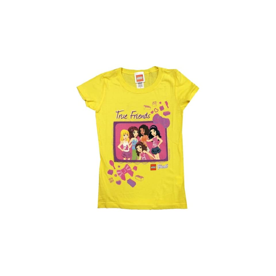 LEGO Friends Girls True Friends Short Sleeve Shirt (4)
