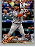 2018 Topps Opening Day #185 Brandon Crawford San Francisco Giants Baseball Card