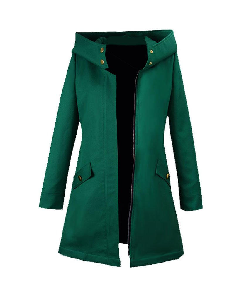 Wish Costume Shop Chise Hatori Cosplay Costume Green Coat Halloween Jacket (S, Green)