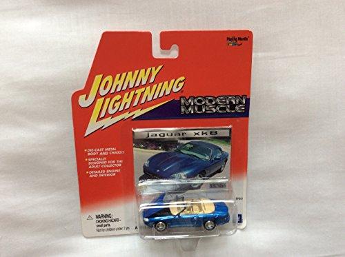 Johnny Lightning Modern Muscle Blue Convertible Jaguar Xk8 Playing Mantis