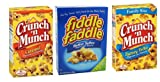 Crunch N Munch and Fiddle Faddle Bundle (3 Pack)