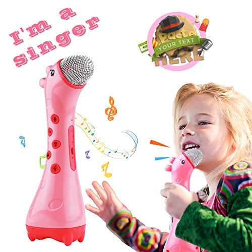 NeWisdom Microphone Changer Toddlers Birthday