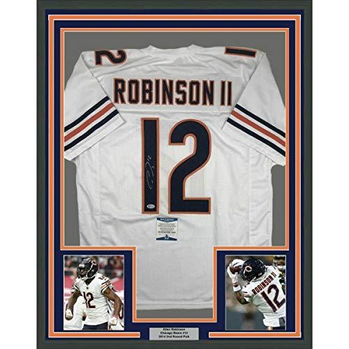 Allen Robinson Autographed Jersey - FRAMED 33x42 White Beckett COA - Beckett Authentication - Autographed NFL Jerseys