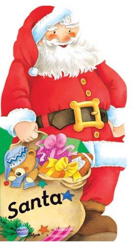 Santa (Mini People Shape Books) (Santa Story Christmas)