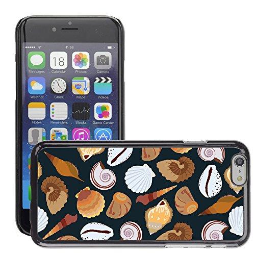 "Premio Sottile Slim Cassa Custodia Case Cover Shell // V00002034 motif de coquillages // Apple iPhone 6 6S 6G 4.7"""