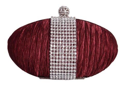 Vivid-pochette pour femme rouge taille unique