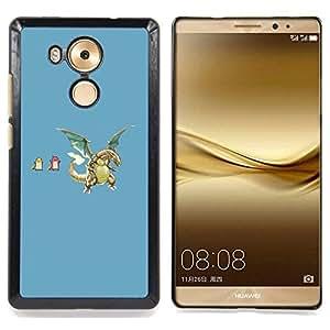 - Funny P0Kemons - - Cubierta del caso de impacto con el patr??n Art Designs FOR Huawei Mate 8 Queen Pattern