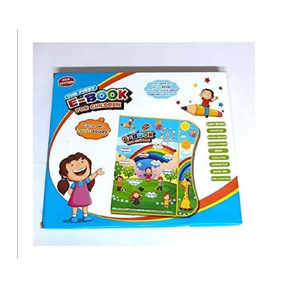 Little Buddy Educational Learning E-Book for Children with Interesting Game and Learning Content, Baby Good Partners