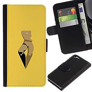All Phone Most Case / Oferta Especial Cáscara Funda de cuero Monedero Cubierta de proteccion Caso / Wallet Case for Apple Iphone 6 // Space Woman