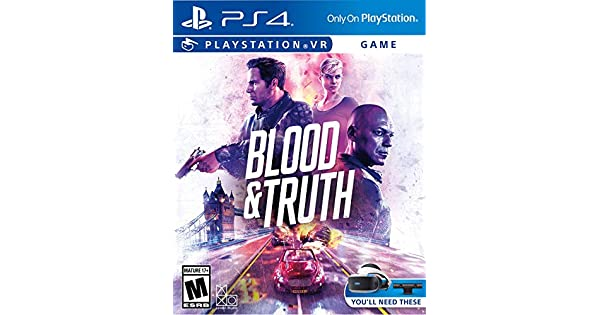 Amazon com: Blood & Truth VR - PlayStation 4: Video Games