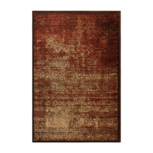 - Blue Nile Mills Modern Afton Acid Wash Area Rug Collection, Auburn (2x3)
