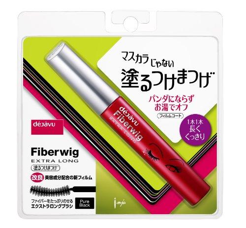 Dejavu Fiber Wig Extra Long R Eyelashes Mascara