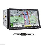indash car stereo back up camera - TOCADO Double 2 Din Car Stereo with Backup Camera 7