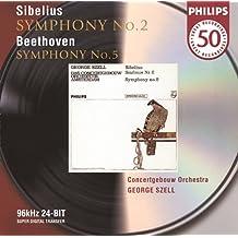 Beethoven: Symphony No.5 / Sibelius: Symphony No.2