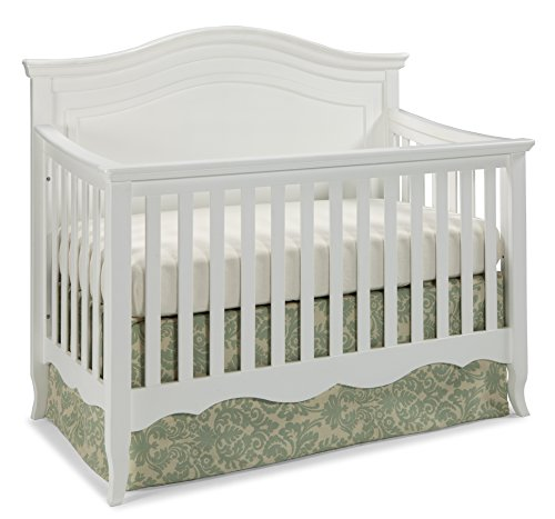 Westwood Design Adelle 4 in 1 Convertible Crib, White