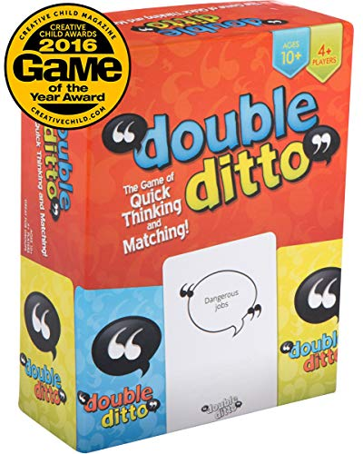 Inspiration Play Double Ditto Family Party Board Game (Best New Family Board Games)