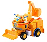 super robot toy - Super Wings - Dozer | Toy Vehicle Set |, Includes Transform-a-Bot Donnie Figure | 2