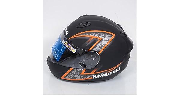 Casco integral Kawasaki k-ninja Z-Extreme talla L negro naranja mate Destockage: Amazon.es: Deportes y aire libre