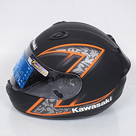 Casco integral Kawasaki k-ninja Z-Extreme talla L negro ...