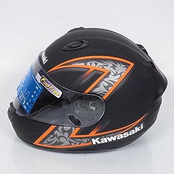 Casco integral Kawasaki k-ninja Z-Extreme talla L negro naranja mate Destockage