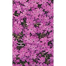 Purple Blossom: Bullet Grid Journal with Page Numbers (5x8 in), 150 Dotted Pages, Softcover
