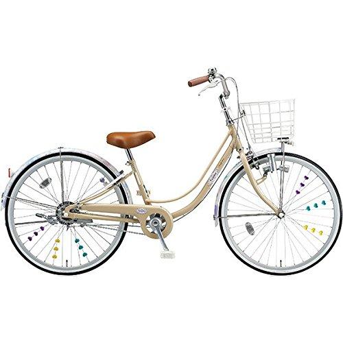 ブリヂストン(BRIDGESTONE) 女の子用自転車 リコリーナ RC40 E.Xカフェベージュ 24インチ変速なし ダイナモランプ B0719C7684
