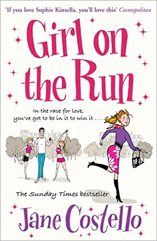 book cover of Girl on the Run