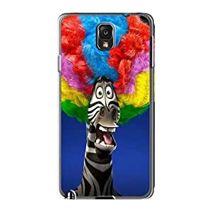 KevinCormack Samsung Galaxy Note3 Perfect Cell-phone Hard Covers Unique Design Stylish Madagascar 3 Series [LAR16200htia]