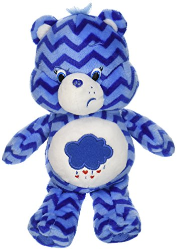 Grumpy Bear Plush (Just Play Care Bears Chevron Bean Plush, Grumpy)