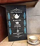 Cafe Parisienne - Tea Sugar & Cream Chic Kitchen