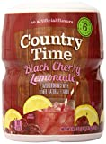 powder mix container - Country Time Flavored Drink Mix, Black Cherry Lemonade, 18.3 Ounce Container (Pack of 12)