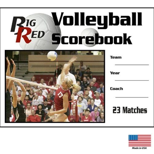 - Blazer Athletic Volleyball Scorebook