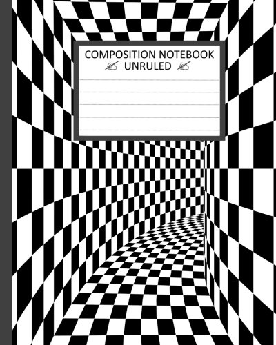 Unruled Composition Notebook: Unruled Composition Notebook 8