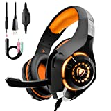 Best Headsets For Xbox Ones - Gaming Headset for PS4 PC Xbox One Bass Review