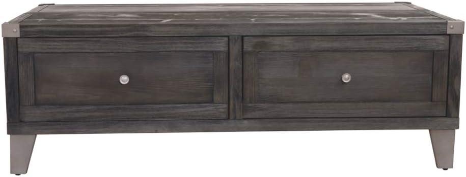 Ashley Furniture Signature Design - Todoe Lift Top Coffee Table - Urban - Gray