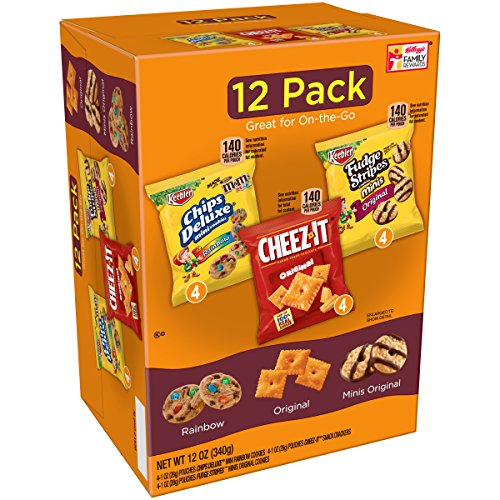 Keebler, Cookies and Crackers, Variety Pack, 12 oz (12 Count)