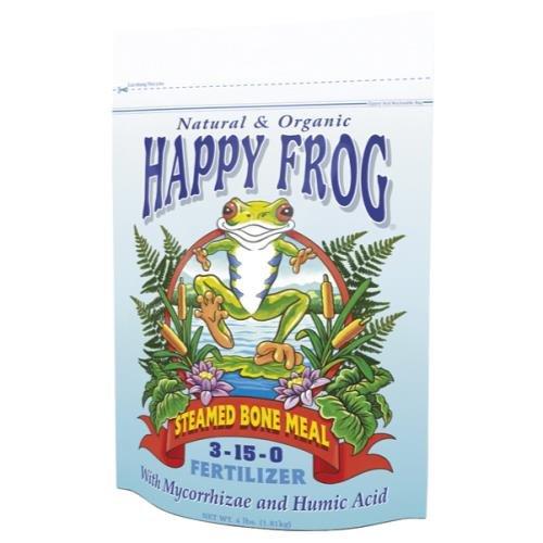 - FoxFarm Happy Frog Steamed Bone Meal Fertilizer 4 lb (12/Cs)