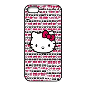Hello Kitty Apples iPhone 4 4s Cell Phone Case Black&Phone Accessory STC_976375