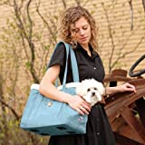 Kurgo Stowe Pet Carrier Shoulder Bag, Blue For Sale