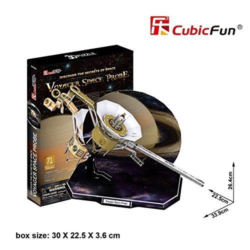 (CubicFun 3D Puzzle - Voyager Space Probe)