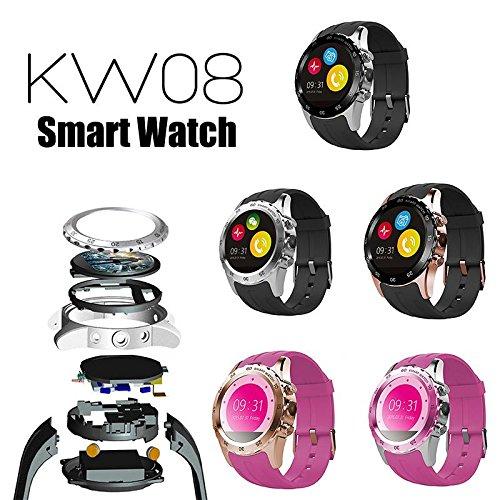 calistous Premium kw08 NFC Bluetooth SmartWatch Outdoor ...
